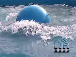 造浪球人工浪涌游乐效果展示